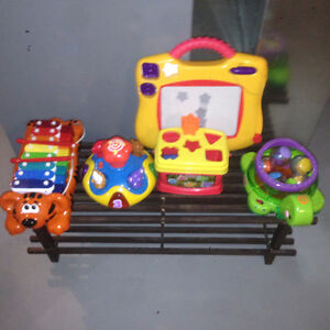 group of kids toys