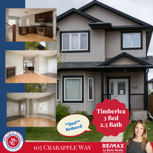 Separate Entrance! So much Potential -105 Crabapple Way