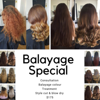 Balayage Colour Special