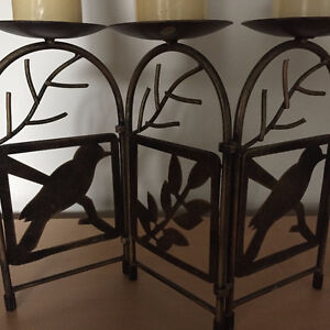 3 Pillar Candle Holder Stand London Ontario image 1