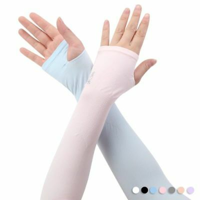 AU Cooling Sport Outdoor Arm Stretch Sleeves Sun Block UV Protection Covers Golf