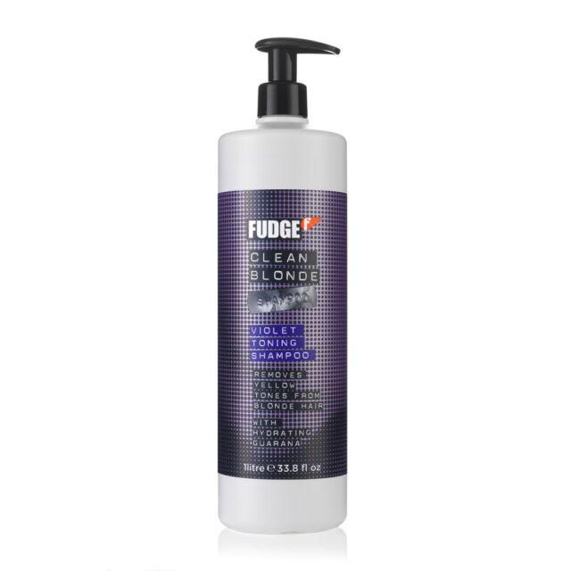 FUDGE CLEAN BLONDE Shampoo Litre with Pump