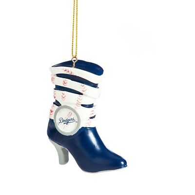 LOS ANGELES DODGERS TEAM BOOT RESIN ORNAMENT 3