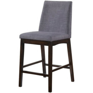 Pyke Espresso Counter Side / Bar Chair