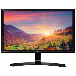 "LG 24"" 60Hz 14ms IPS LED Monitor (24MP58VQ) - Black"