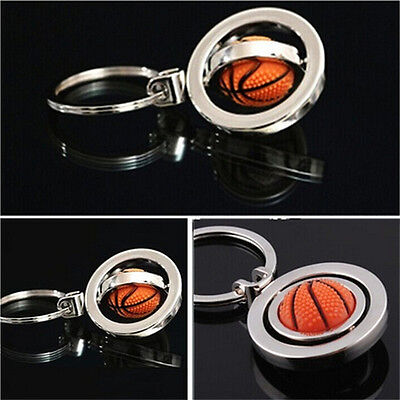 New Sale 3D Sports Rotating football soccer Keychain Keyring Key Chain Ring KeyP
