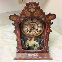 Person Made 3D Quart Movement  Coca-Cola Clock Works.