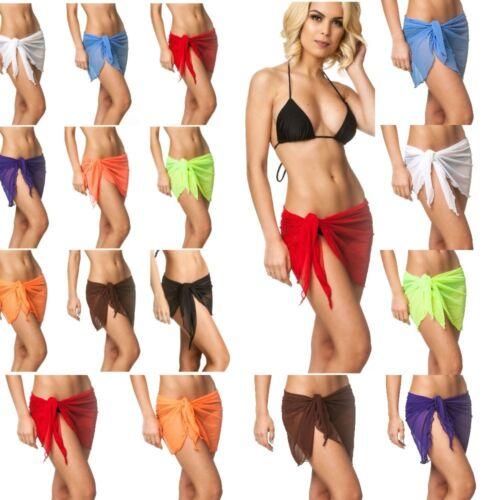 beach cover up Women's tie mesh skirt Swimsuit Swimwear saro