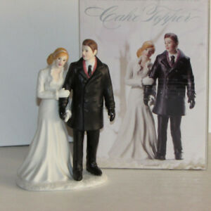 NEW WEDDING CAKE TOPPER WINTER WONDERLAND ANNIVERSARY BRIDAL