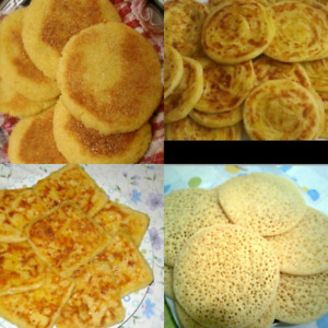 Home made moroccan's bakeries