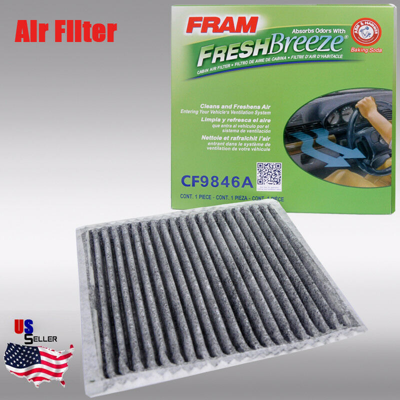 Replacement for CF9846A,Cabin Air Filter for MAZDA MPV,MITSUBISH Endeavor//Galant,SUBARU Legacy//Outback//Tribeca,TOYOTA 4Runner//Celica//FJ Cruiser//Prius//Sienna,3 Pack