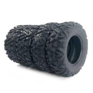 4 *  TIRE SET ATV TIRES  25