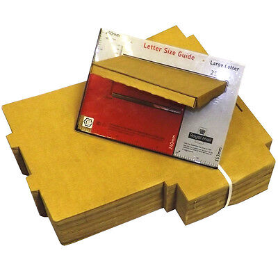500 x C4 A4 Postal Royal Mail Large Letter Maximum Size Post Cardboard Box Trend