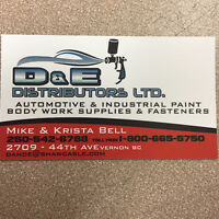 Automotive Paint and Body Work Supplies