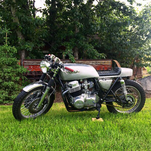 Beautiful Cafe Racer Honda CB750 Big Bored to 850