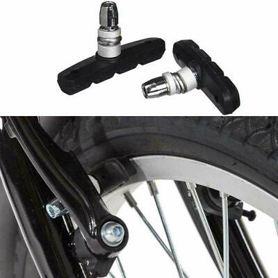 1-2 Pairs V Brake Blocks Cycle Bike Bicycle MTB Blocks Pads Shoes Mountain 70mm