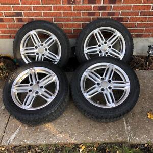 205/55R16  roues Volkswagen Audi wheels 5x112