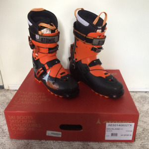 Atomic Backland Carbon size 27/27,5 Ski touring boots, NEW!!
