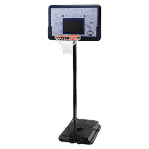 Height-Adjustable Portable Basketball System