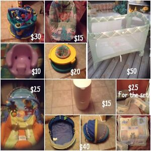 VARIETY OF BABY ITEMS