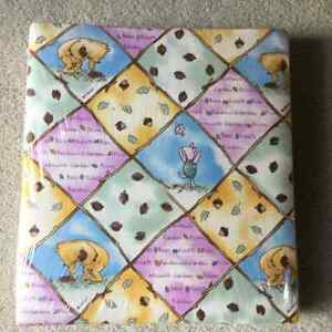 BRAND NEW CLASSIC POOH FABRIC PHOTO ALBUM