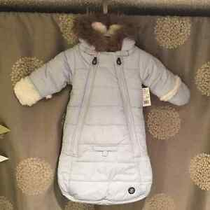 New with tags 3-6 snowsuit Great Gift!!