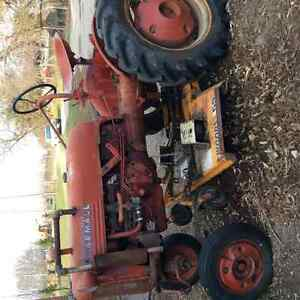 Farmall Cub with front plow