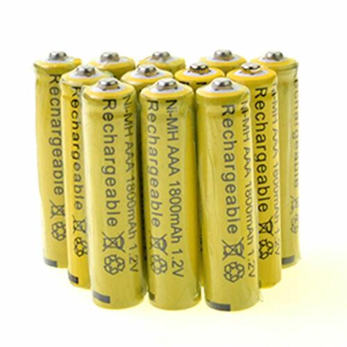 12AAA Rechargeable Batteries  1800mAh 1.2v Garden Solar Ni-m