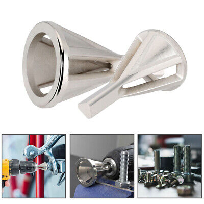 Hot Stainless Steel Deburring External Chamfer Tool Drill Bit Remove Burr Silver