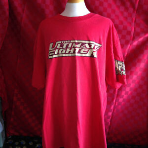 TEAM -Tito Ortiz -Red-Size L -UFC -MMA- ULTIMATE FIGHTER-TAP OUT