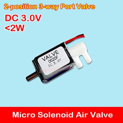 2-position 3-way Port Air Valve Dc 3v Micro Mini Dc Electric Solenoid Valve Diy