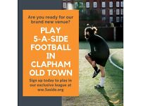SPACES - Clapham Old Town 5-a-side!