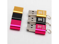 Mini Super Speed USB 2.0 Micro SDXC Card Reader