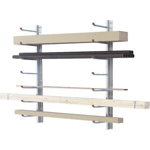CANTILEVER RACKING IN STOCK. 2 SIDED STAND ALONE CANTILEVER RACK London Ontario image 7