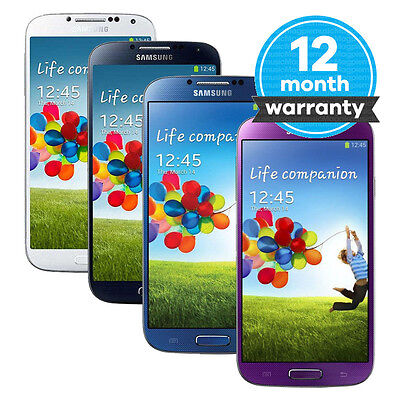 Samsung Galaxy S4 GT-I9505 - 16GB - Unlocked SIM Free Smartphone Staring