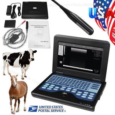 Usa Handheld Portable Veterinary Ultrasound Scanner Machine Equine Bovine Box