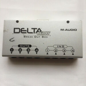 M-Audio Delta Series~Break Out Box 4-in/4-out