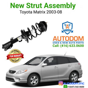 New Front and Rear Strut Assembly Toyota Matrix FWD 2003-08