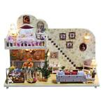 iiecreate K-023 Amsterdam Village Cottage DIY poppenhuis met