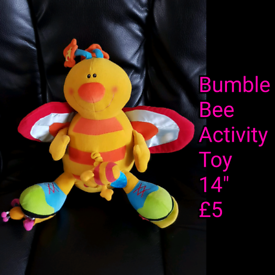 Bumble Bee Activity Toy Plush.