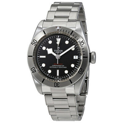 Tudor Heritage Black Bay Automatic Mens Stainless Steel Watch 79730-0001