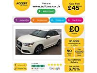 Audi A1 1.6TDI ( 105ps ) 2011MY Sport FROM £45 PER MONTH