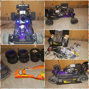 HPI 1/5 scale baja 5b 2wd 23cc gas buggy rtr