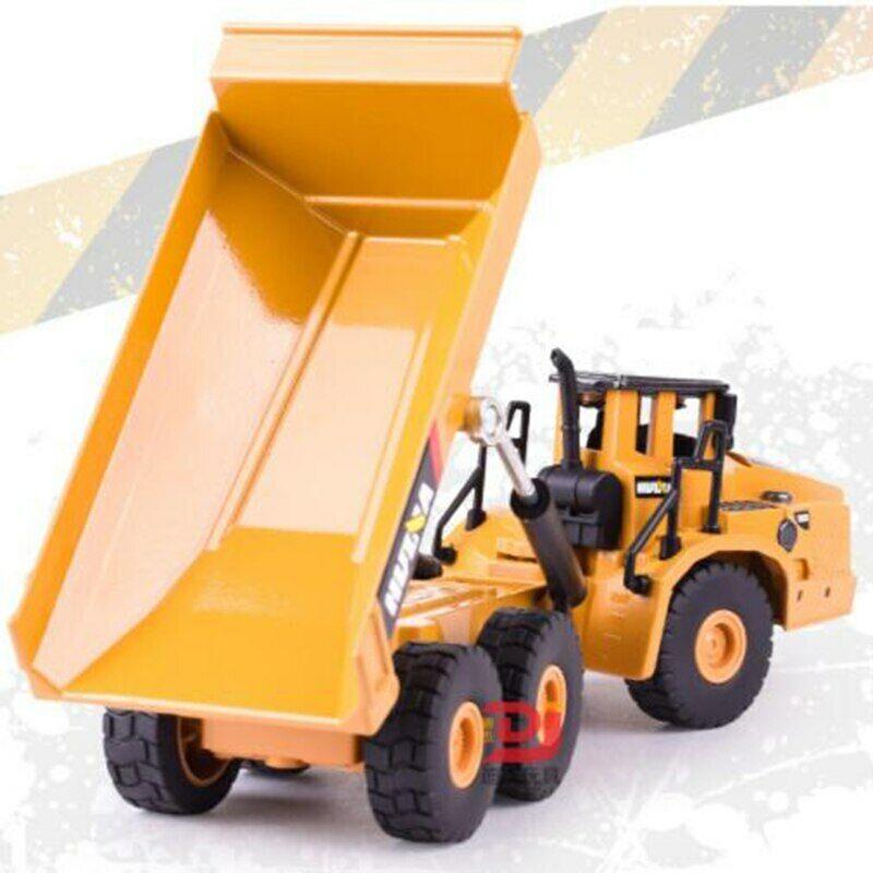1/50 truck model Die-cast alloy Tractor Articulated dump truck excavator model