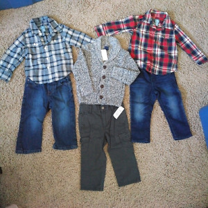 Gap toddler boy's outfits 18-24 months