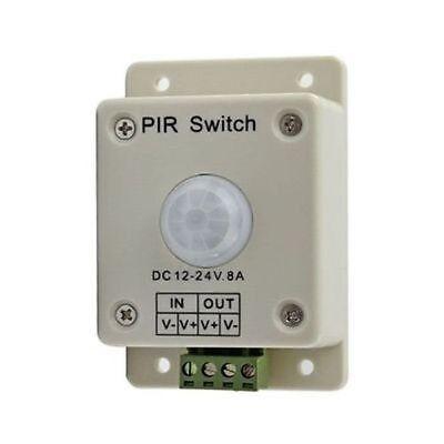 Dc 12v-24v 8a Automatic Infrared Pir Motion Sensor Pir Switch For Led Light