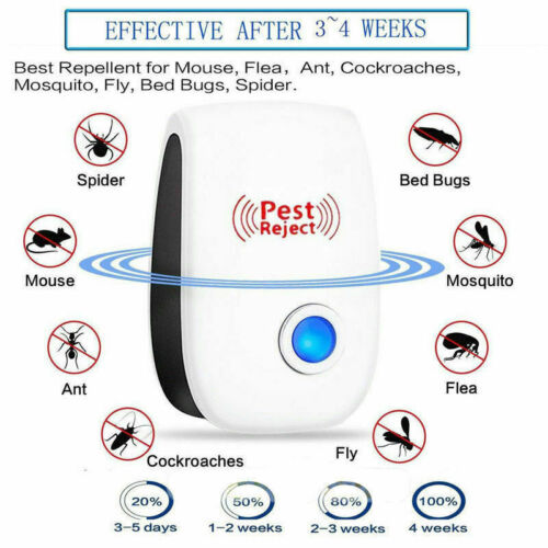 5 pcs Ultrasonic Pest Repeller Control Electronic Repellent