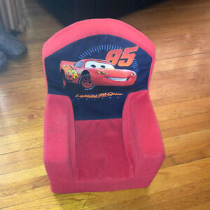 Fauteuil Flash McQueen/Lightning McQueen plush chair