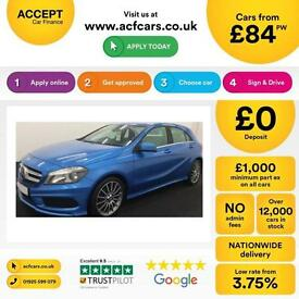 Mercedes-Benz A180 AMG Sport FROM £84 PER WEEK!