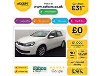 Volkswagen Golf FROM £31 PER WEEK!